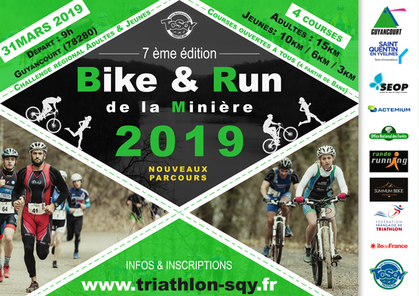 Bike and Run de la Minière 2019