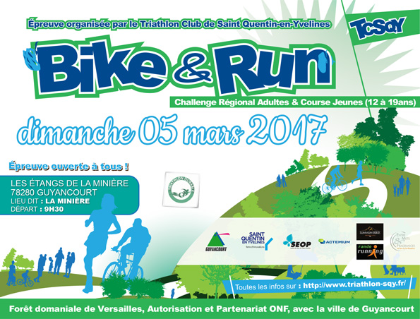Bike and Run TCSQY 2017 Flyer