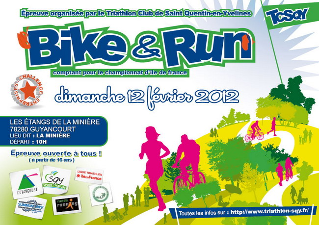 Bike and Run de la Miniere 2012 - TCSQY