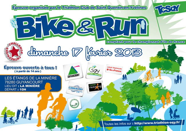 Bike and Run de la Minière TCSQY 2013