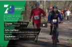 La course S, du Bike and Run de La Minière aux info. sport de TV78.